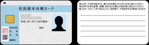 DMMビット 住民基本台帳カード
