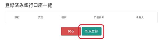 ビットバンク(bitbank)口座情報登録画面