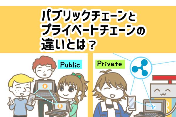 パブリックチェーンとプライベートチェーンの違いとは?仕組みやメリットを解説!