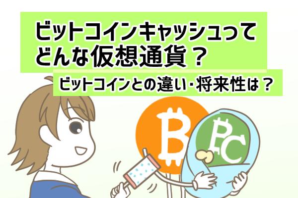 ビットコインキャッシュ(BCH)の特徴とは?将来性や役割を解説!