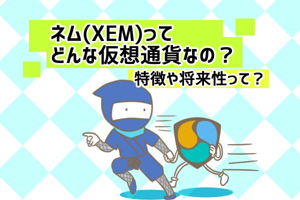 ネム(XEM)はどんな特徴がある仮想通貨?将来性や役割を徹底解説!